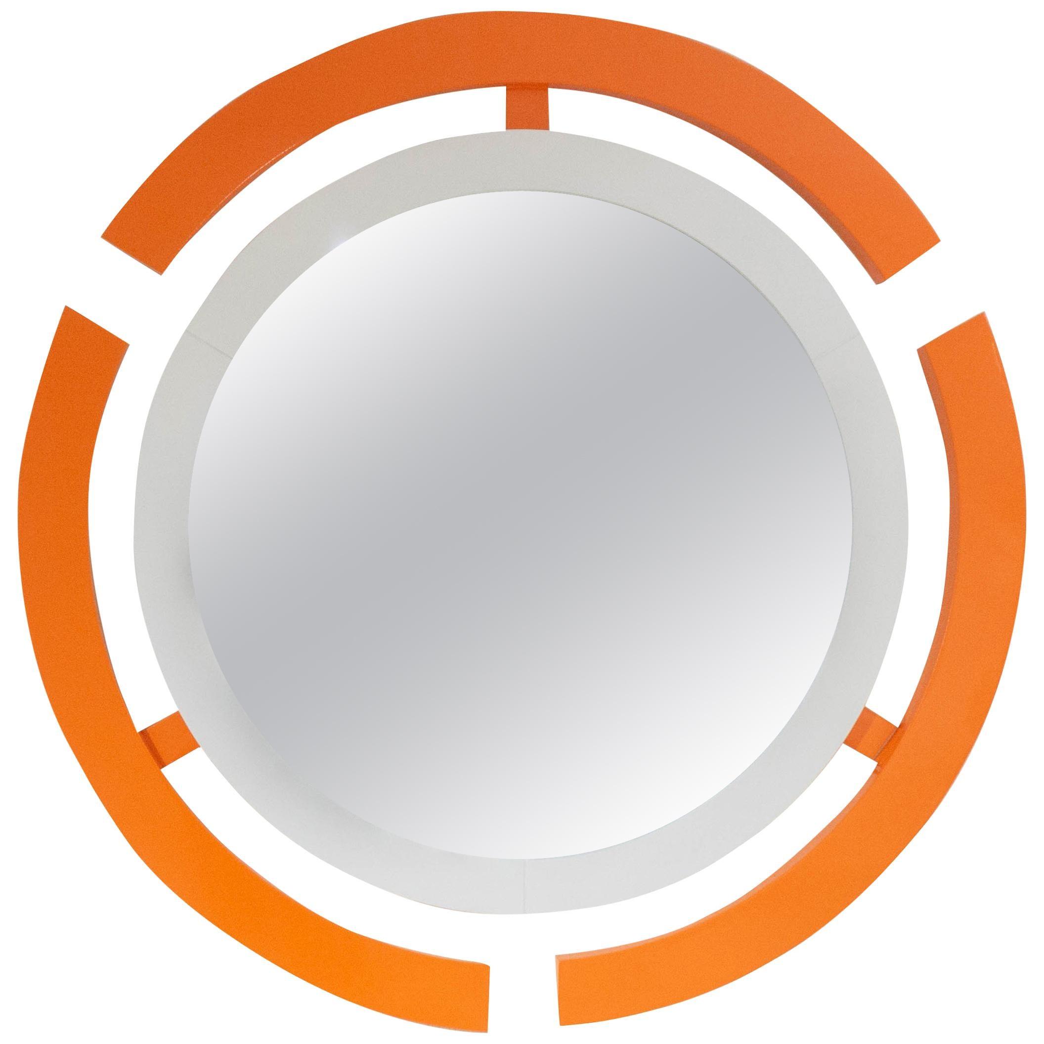 Custom Round Wall Mirror