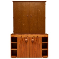 Custom Secretary Bookcase / Cabinet by Gilbert Rohde Paldo for Herman Miller