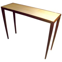 Custom Shagreen Top Console in the Jean Michel Frank Manner