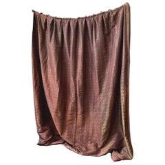 Custom Silk Curtain Panels by Michael Smith & J. C. Landa, a Set of 4