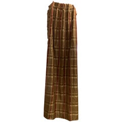 Custom Silk Lined Draperies, 8 Panels of Elegance
