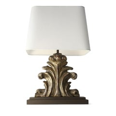 Custom Silvered Table Lamp