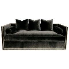Custom Tuxedo Sofa
