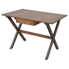Custom Walnut Desk with Drawer