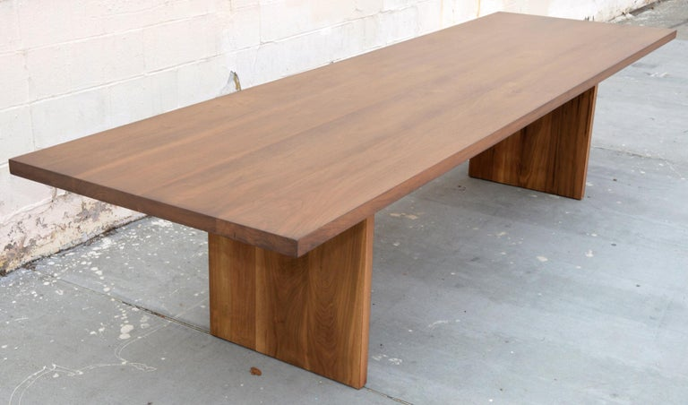 Custom Walnut Dining Table For Sale 1