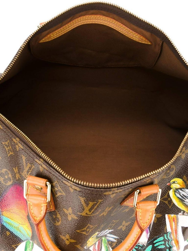 Customised Louis Vuitton Vintage  'Dripping Love' Bag In Excellent Condition For Sale In London, GB
