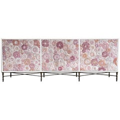 Customizable 6-Door Blossom Buffet by Ercole Home