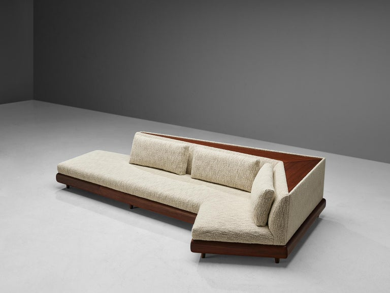 Late 20th Century Customizable Adrian Pearsall 'Boomerang' Sofa 2300-S For Sale