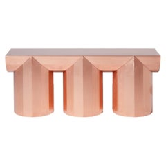 Customizable Compositional Copper Table or Bench by Jeongseob Kim