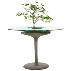 """Concrete Eero Table by OPIARY (D44"""", H30"""")"""