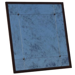 Customizable  Industrial Style Iron Frame Aged Effect Mirror in Stock