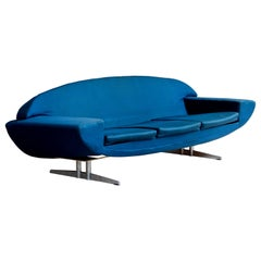 Customizable Johaness Andersen Sofa Capri for Trensum, Denmark, 1958