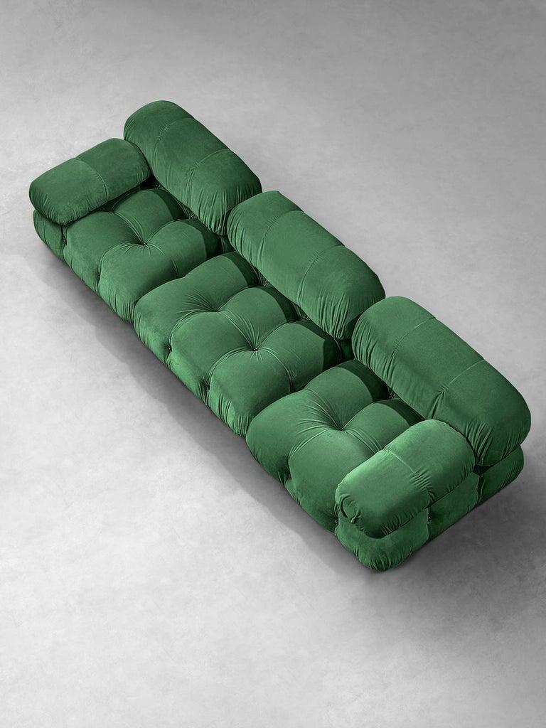 Customizable Mario Bellini Camaleonda Sofa In Emerald