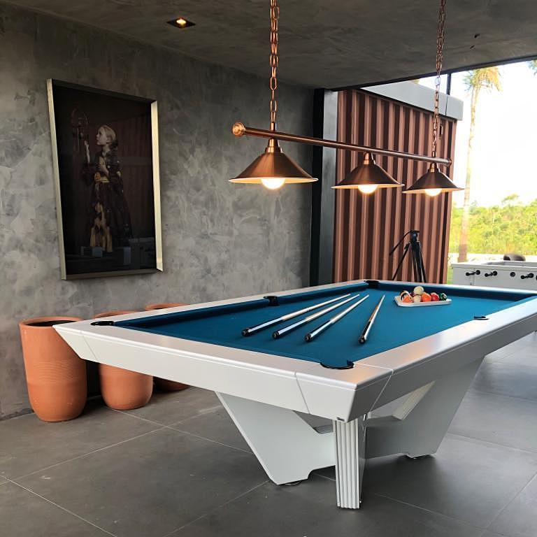 Brazilian Customizable Modern Pool Table For Sale