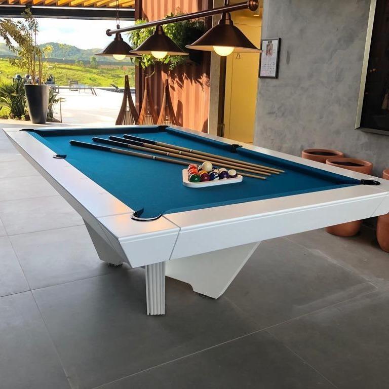 Customizable Modern Pool Table In New Condition For Sale In Porto Alegre, Rio Grande do Sul