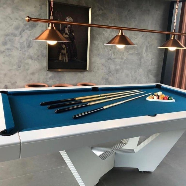 Contemporary Customizable Modern Pool Table For Sale