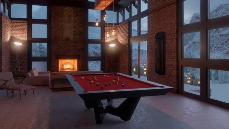 Customizable Modern Pool Table For Sale 1