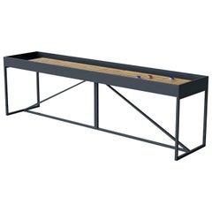 "Customizable Modern ""The Break"" Shuffleboard Table"