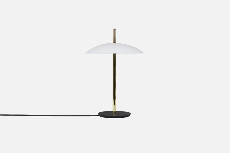 Customizable Pair of Signal Table Lamp from Souda, Made to Order In New Condition For Sale In Brooklyn, NY