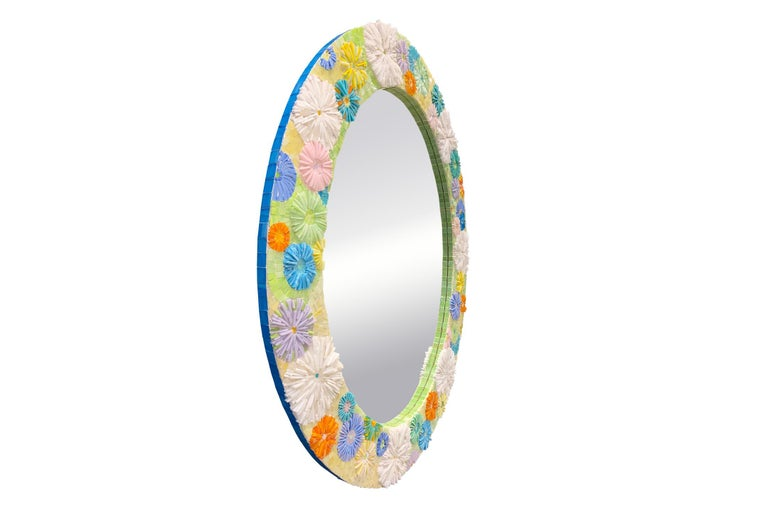 The Blossom oval mirror by Ercole Home has 4.5