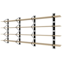 Customizable Set of 4 Strut Shelves from Souda, Maple, Extra long, Made to Order