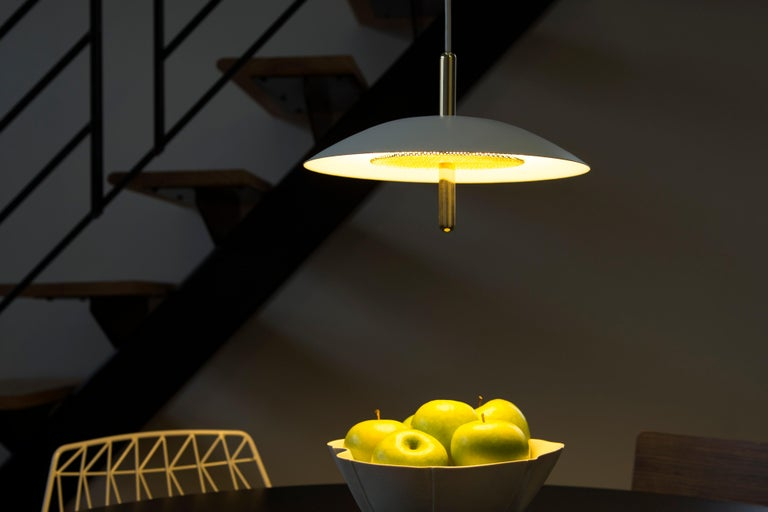 Modern Customizable Signal Pendant Light from Souda, Brass, Made to Order For Sale