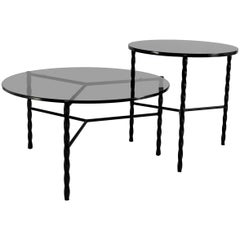Customizable Von Iron Nesting Coffee Table from Souda, Made to Order