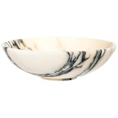 Customized Bowl in Paonazzo Marble Honed