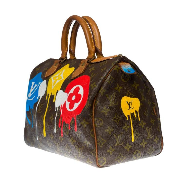 Customized Louis Vuitton Speedy 35