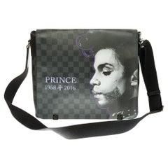 """Customized """"Prince"""" Louis Vuitton District Messenger shoulder bag"""