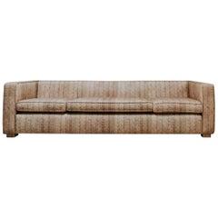 Customized Sofa/Canapé Rattan Print Fabric