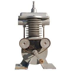 Cut Away Teaching Aid of a Four Stroke Engine, 1950s DDR