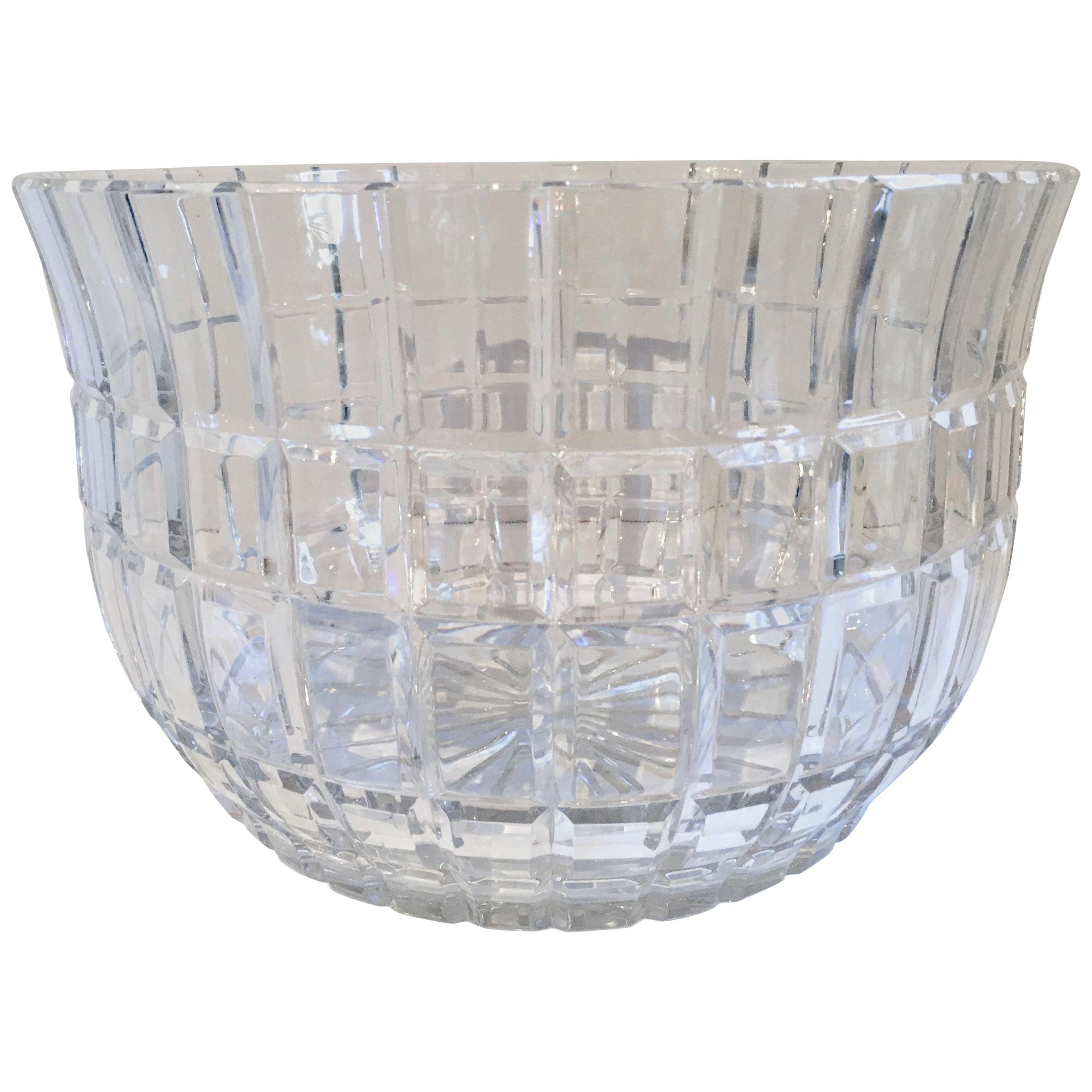 Cut Crystal Serving Bowl