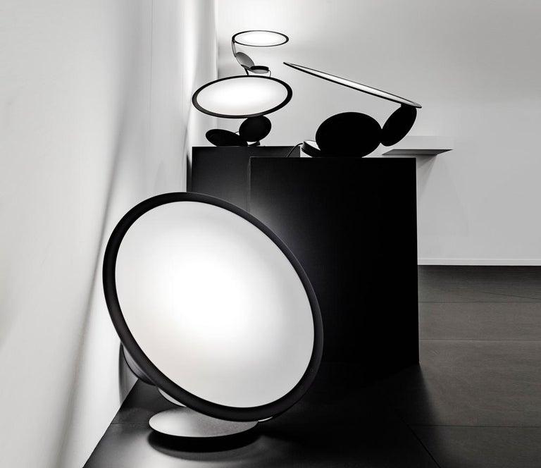 Italian Cut Modern Aluminum LED Table Lamp by Timo Ripatti For Sale