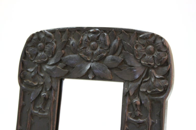 Cutler & Girard Italian Art Nouveau Mirror Frame In Good Condition For Sale In New York, NY