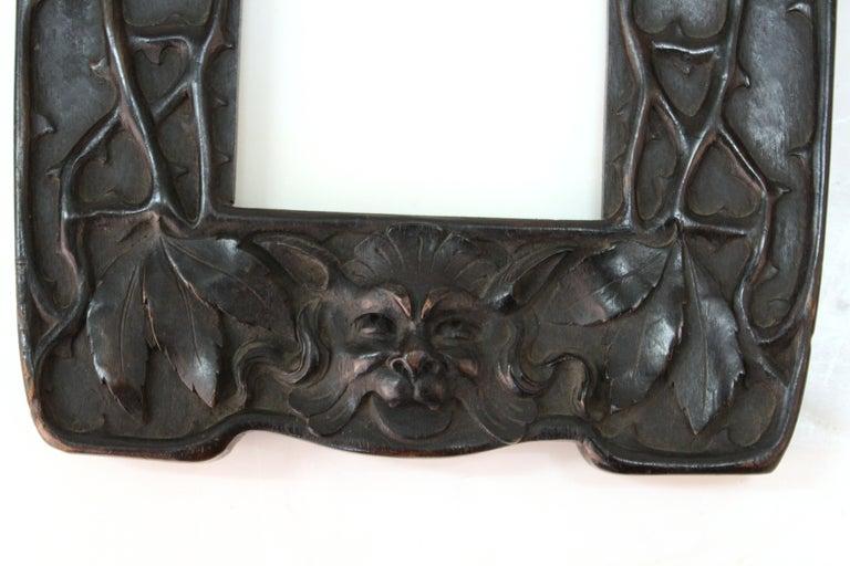 Wood Cutler & Girard Italian Art Nouveau Mirror Frame For Sale