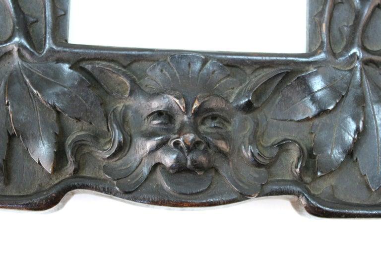 Cutler & Girard Italian Art Nouveau Mirror Frame For Sale 2