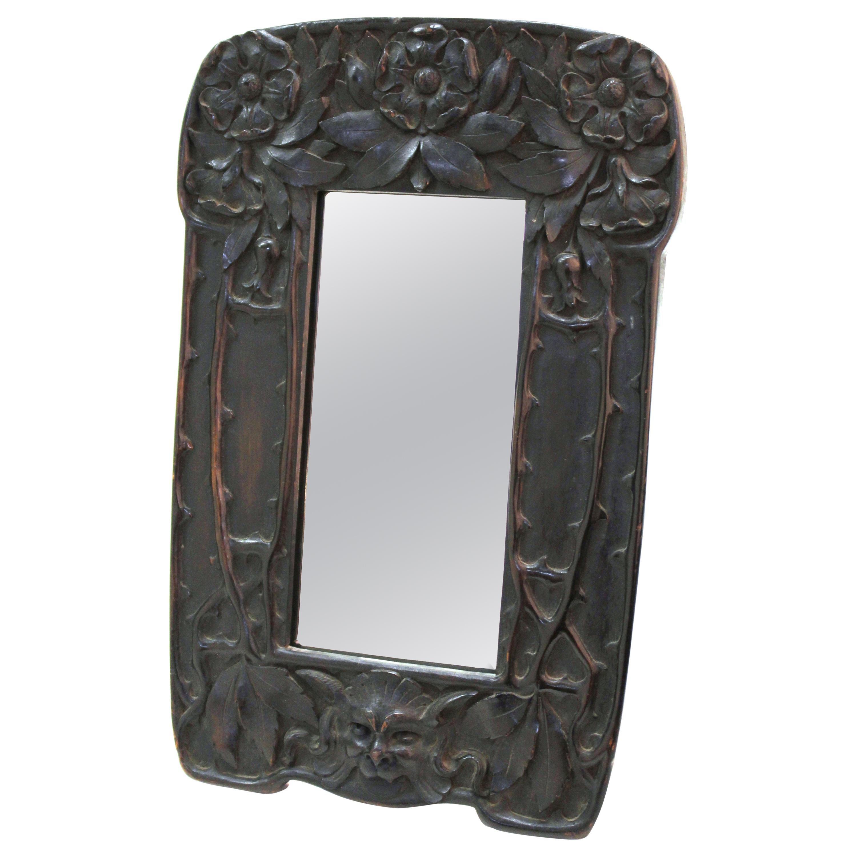 Cutler & Girard Italian Art Nouveau Mirror Frame