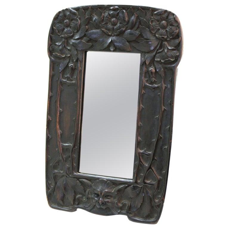 Cutler & Girard Italian Art Nouveau Mirror Frame For Sale