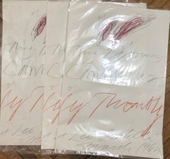 Nine Discourses on Commodus by Cy Twombly at Leo Castelli - 3 pieces