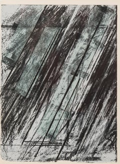 Untitled -- Screen Print, Lithograph, Abstract, Contemporary Art by Cy Twombly