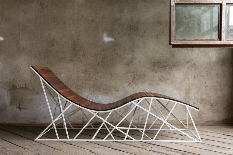 Cyclone Chaise Lounger By Uhuru Design Reclaimed