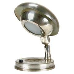 Cyclopean Chrome Table Lamp, Czechoslovakia, circa 1940