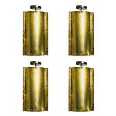 Cylinder Brutalist Tube Pendant, Four Pendants Available