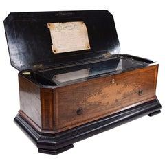 Cylinder Music Box, Nicole Frères Manufacture, Genève, Switzerland, 19th Century
