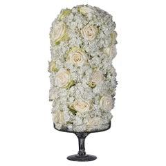 Cylinder Roses Set Arrangement, Flowers, Italy