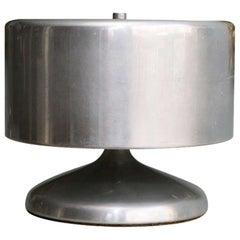 Zylindrische Lampe aus Aluminium