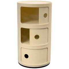 Cylindrical Cabinet by Kartell, Italy 1969, Designed by Anna Castelli Ferrieri