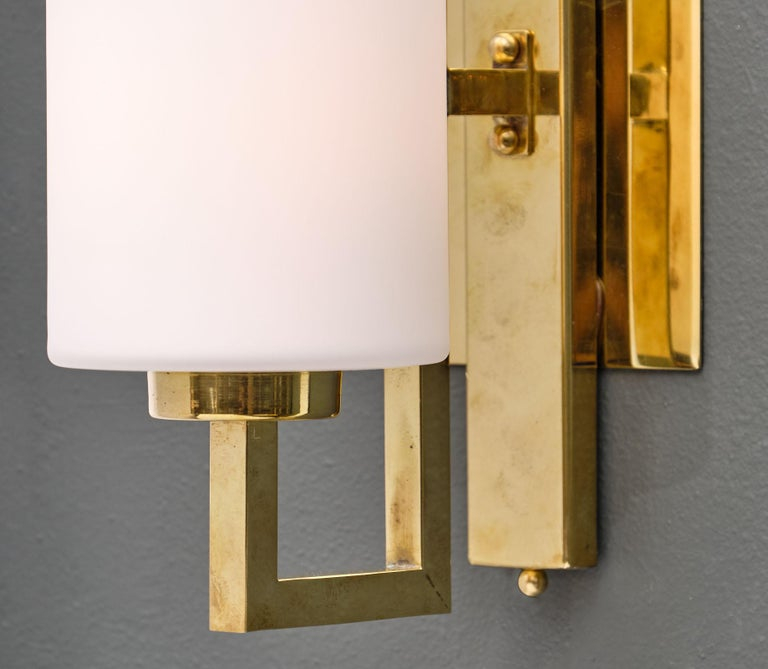 Cylindrical Murano Glass Sconces For Sale 1
