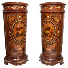 Cylindrical Pedestal Stand '2-Piece Set', 20th Century